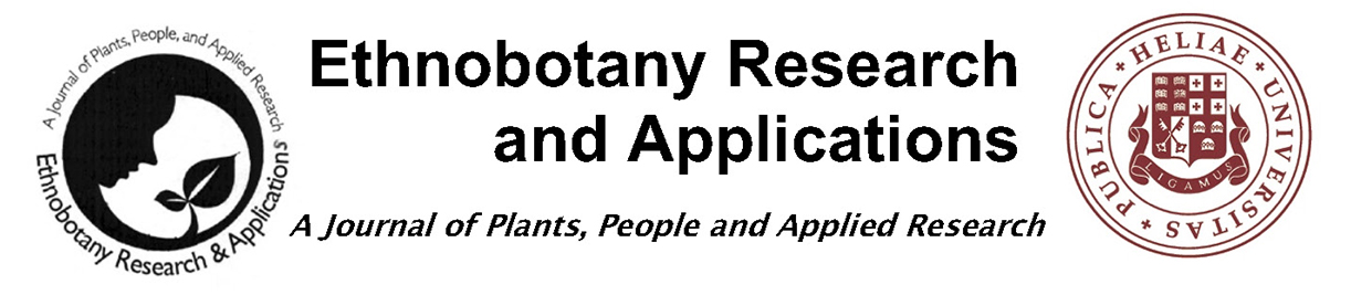 Ethnobotany Research and Applications